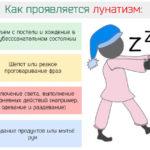 Лунатизм у детей и взрослых: причины, лечение, признаки