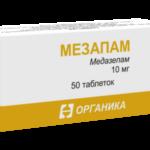 Мезапам: инструкция по применению, отзывы, показания к применению, инструкция цена, аналоги, состав