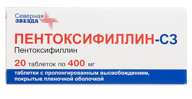 pentoksifillin-tabletki